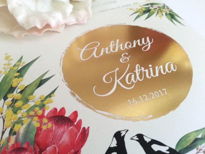 Wedding Invitation Event Stationery
