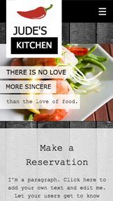 Catering Chef Website Templates Restaurants Food Wix Com