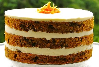 CARROT 6  Layers of Carrot Cake and Cream Cheese Frosting     CARROT
