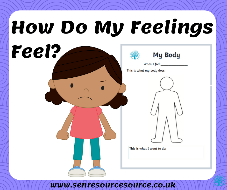 My Body Reactions Worksheet