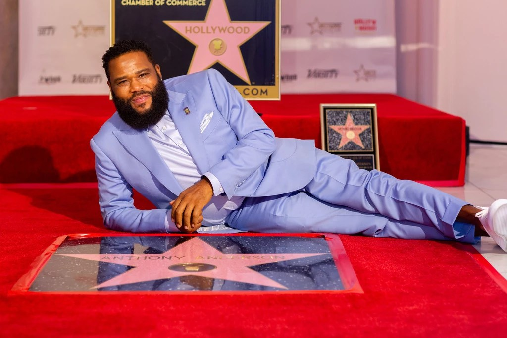 Anthony Anderson Hollywood Walk of Fame Star Ceremony
