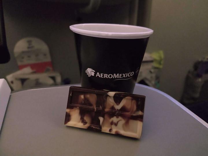 free coffee on board