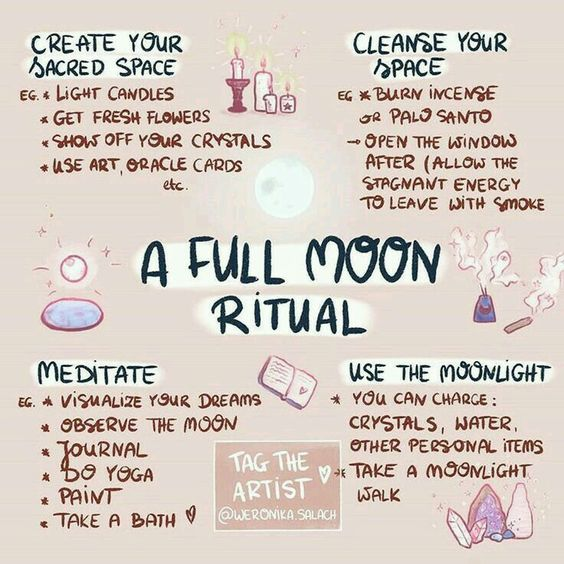 What Is A Full Moon Ritual