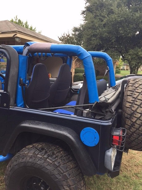 Unlimited Jeep Custom Silver Wrangler