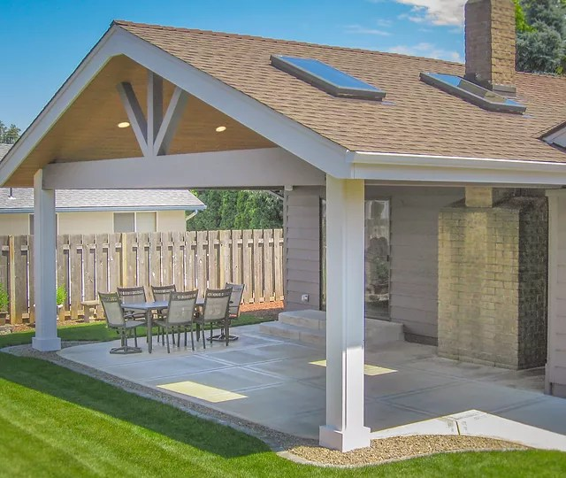 tnt builders gable patio cover with