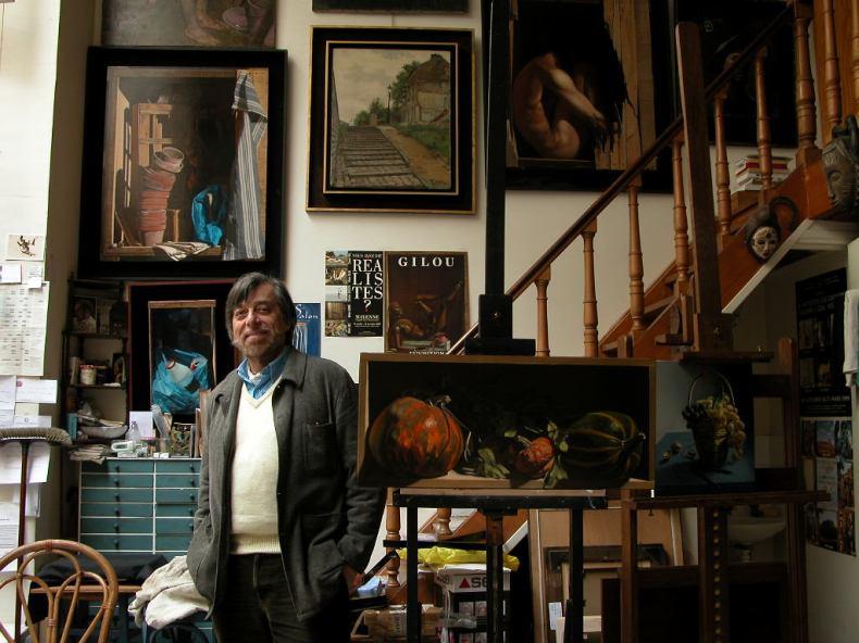 Pierre Gilou | Artiste Peintre | Trompe-l'œil | Biographie