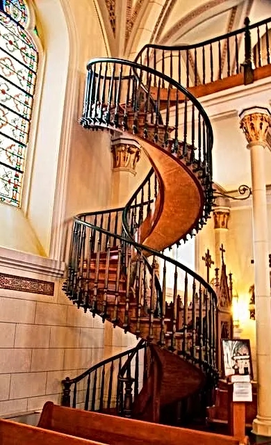 Pinon Rv Park Camping Nearby Loretto Chapel And Miraculous Staircase | Spiral Staircase Loretto Chapel | St Joseph | Immaculate | Kentucky Sisters | Explained | Stairway