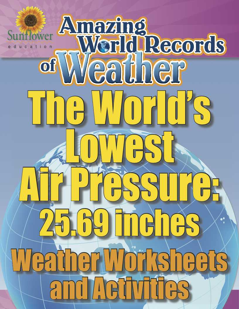 Amazing World Record Of Weather Lowest Air Pressure