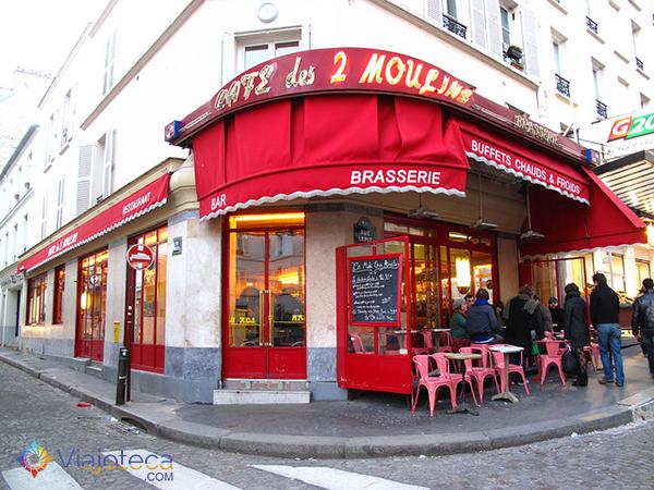 Image result for cafe des 2 moulin