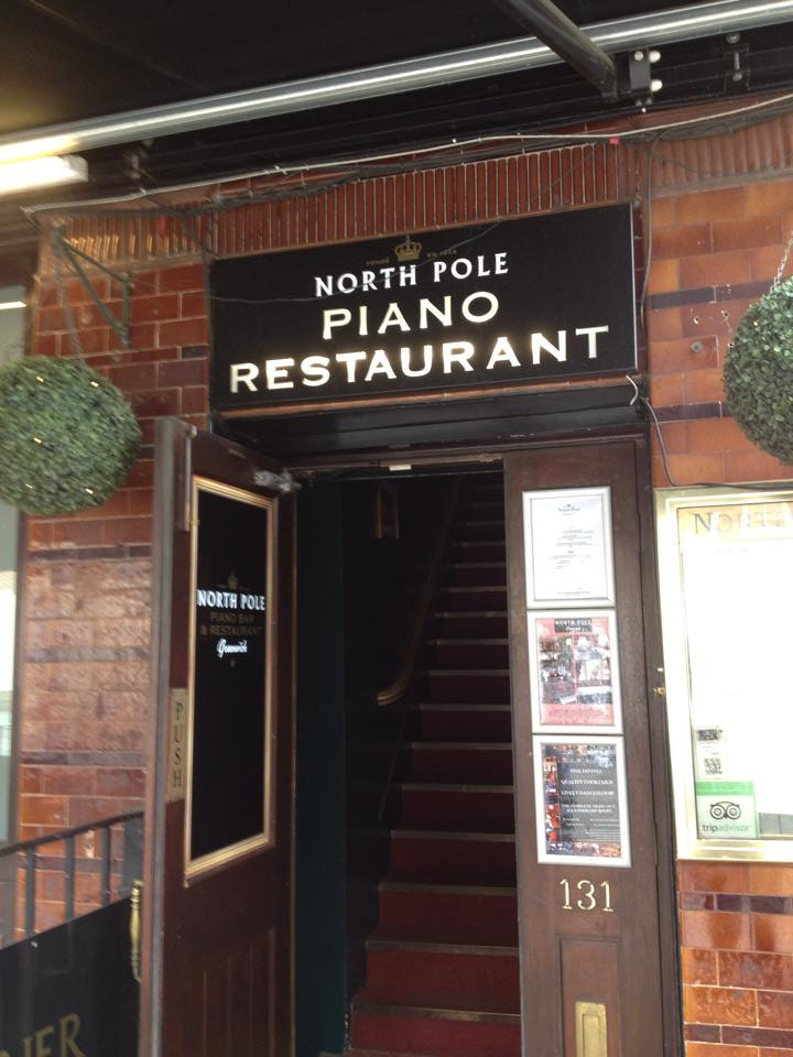 North Pole Piano Restaurant - The best eatery on the Greenwich London Map