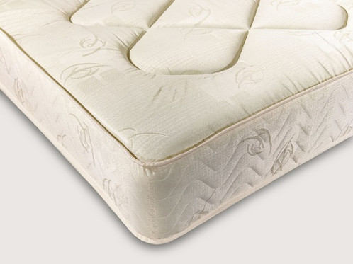 With Its Resilient Damask Cover Hypo Allergenic Fillings And Robust Open Coil Springs The York Mattress From Dura Beds Offers Support Comfort For A