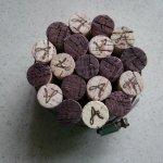 Wine Cork Trivet Small Star Snowflake Pattern Mysite