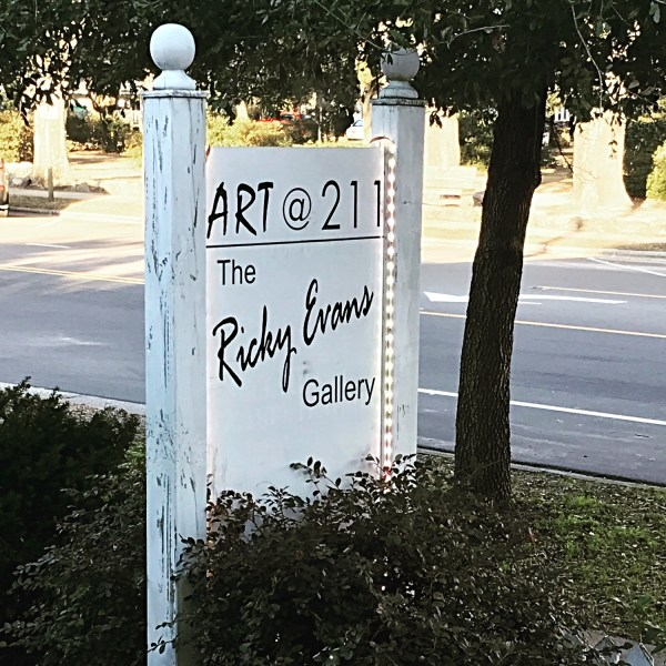 Cash Mob Southport NC The Ricky Evans Gallery Art@211