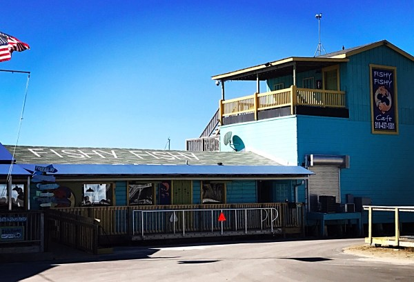 cash mob fishy fishy cafe southport nc restaurant on the water