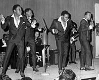 Four Tops performing in New Rochelle in 1967