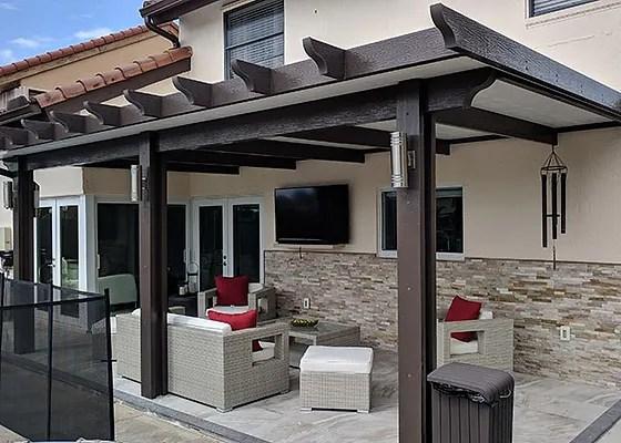 aluminum patio roofs florida