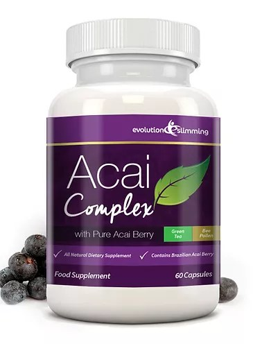 Acai berry weight loss complex with Green tea   ledhealthandfitness