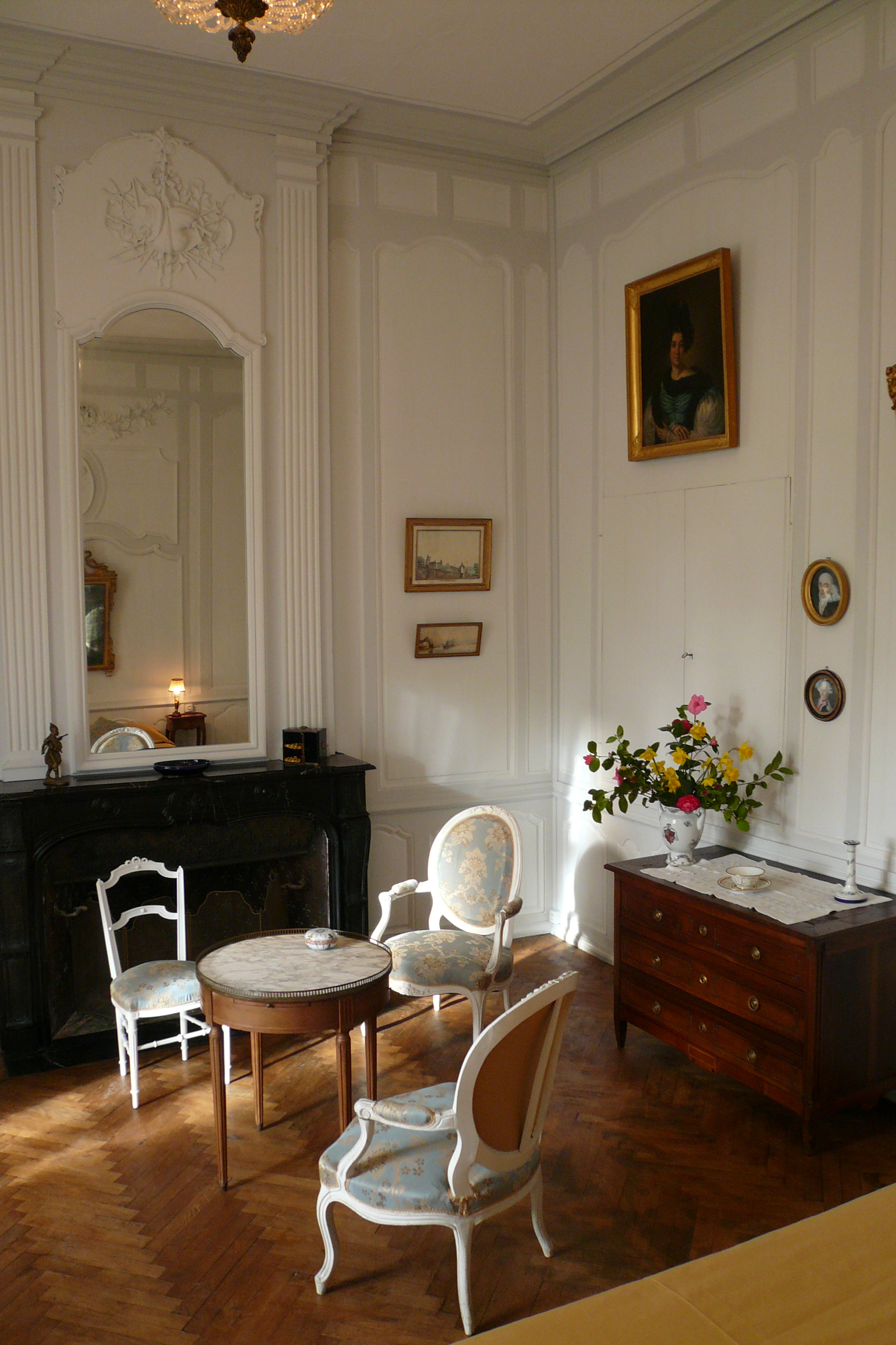 Chambre Tourlandry Chambres Dhtes Chteau De Ternay