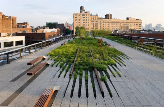 THE HIGH LINE, DS+R