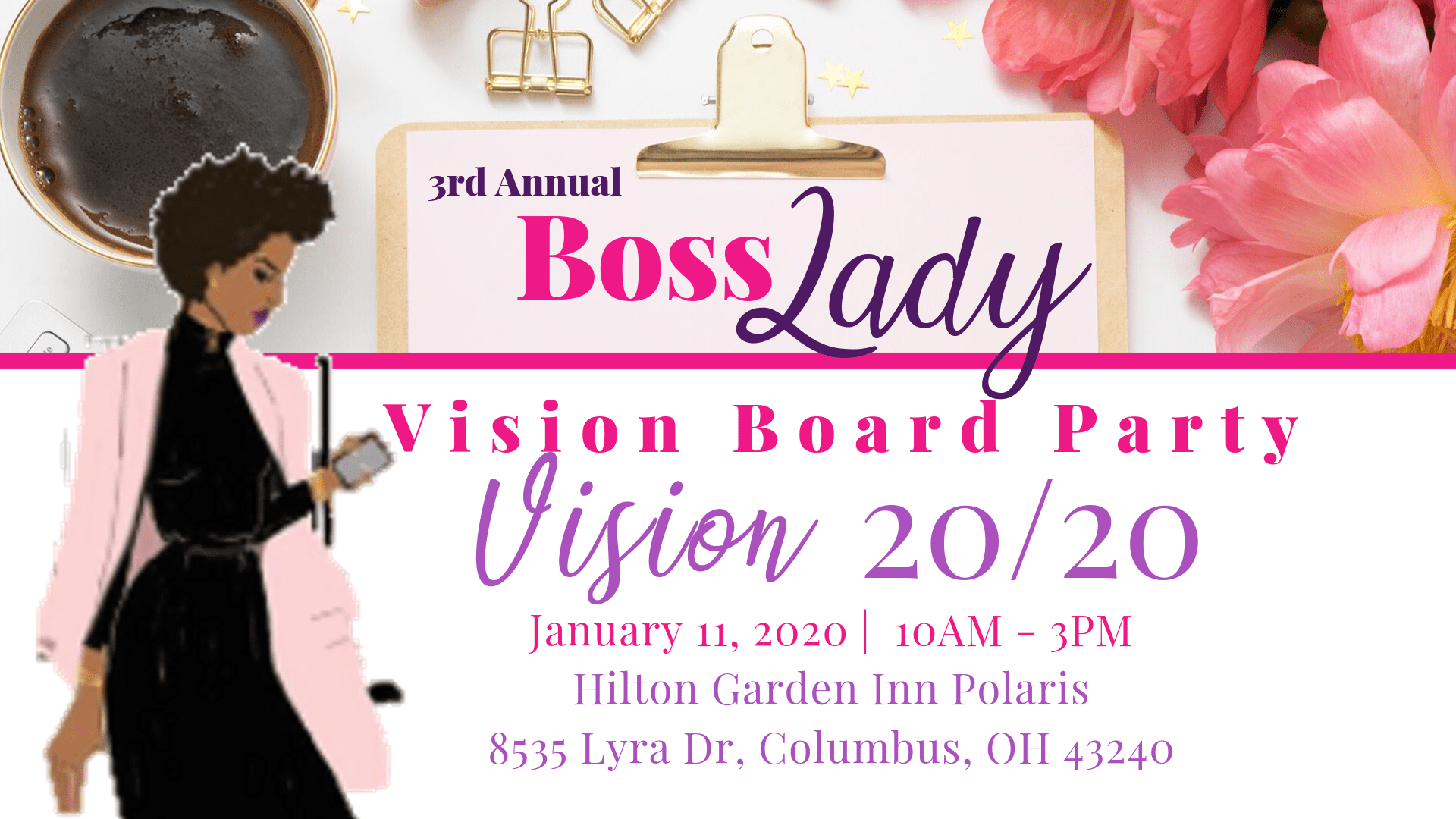 Boss Lady Vision Board Party