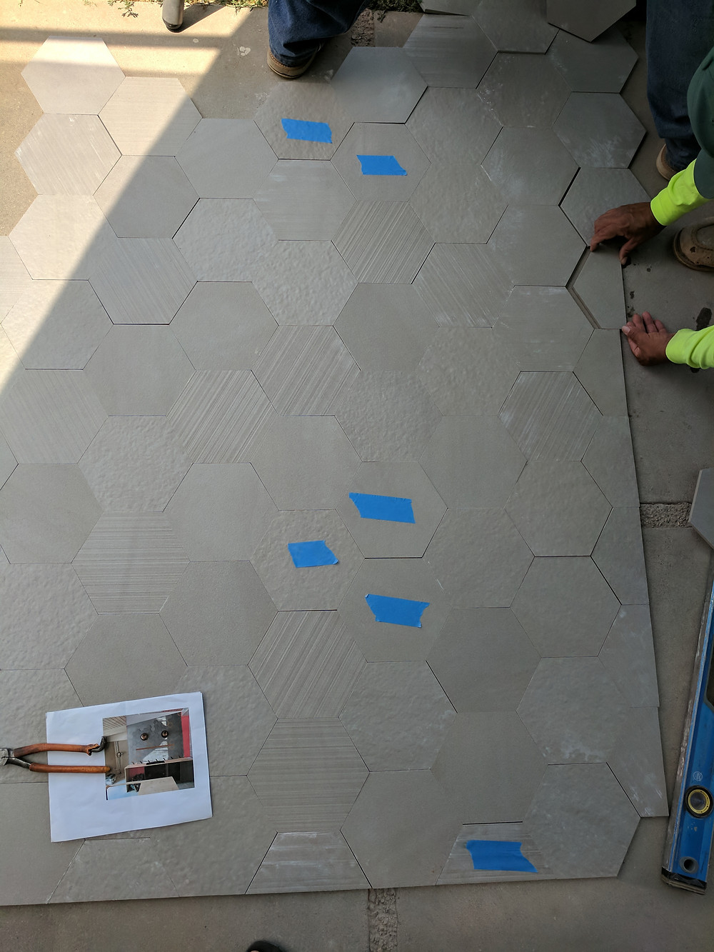 ann sacks tile we selected for my kitchen