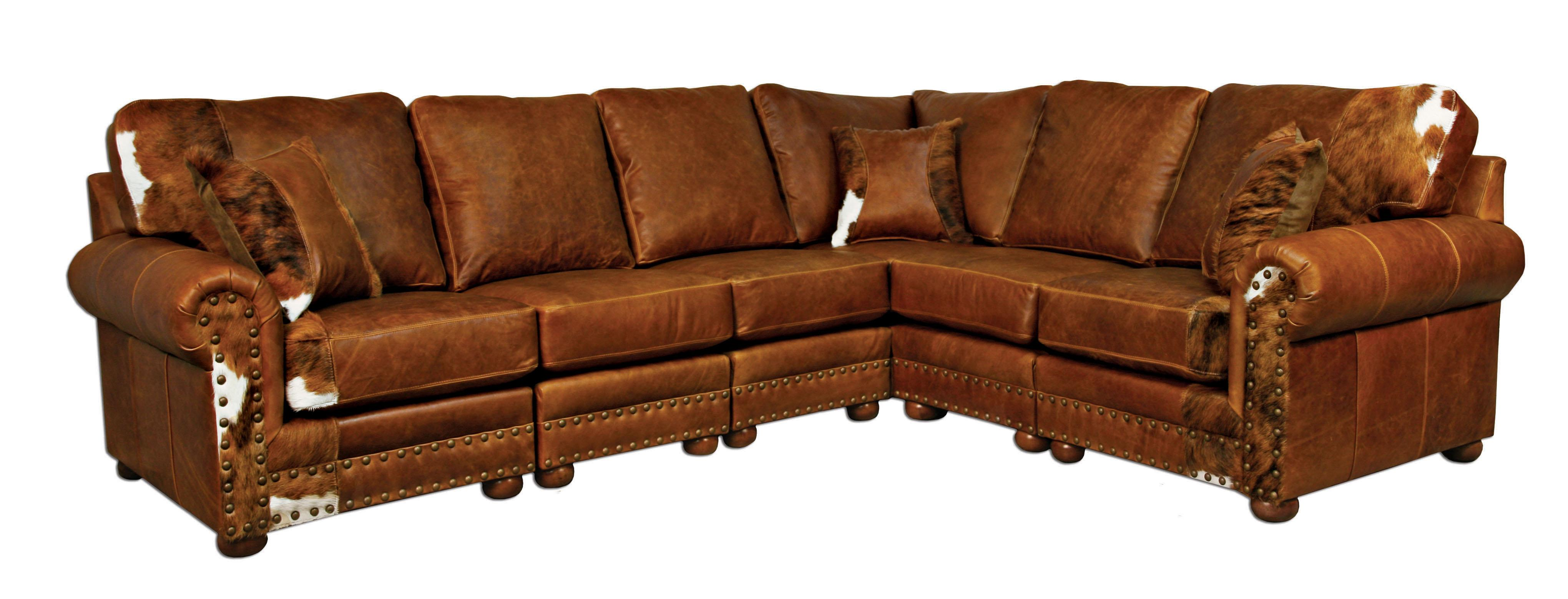rustic western sectional sofas