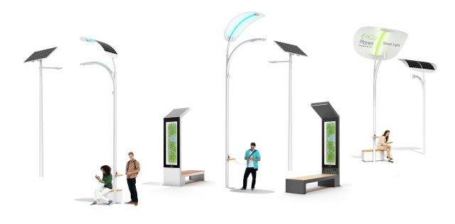 14 Reasons Why To Buy Smart Solar Street Lights And Smart Benches Smart Solar Street Light Battery Bench New York Engoplanet
