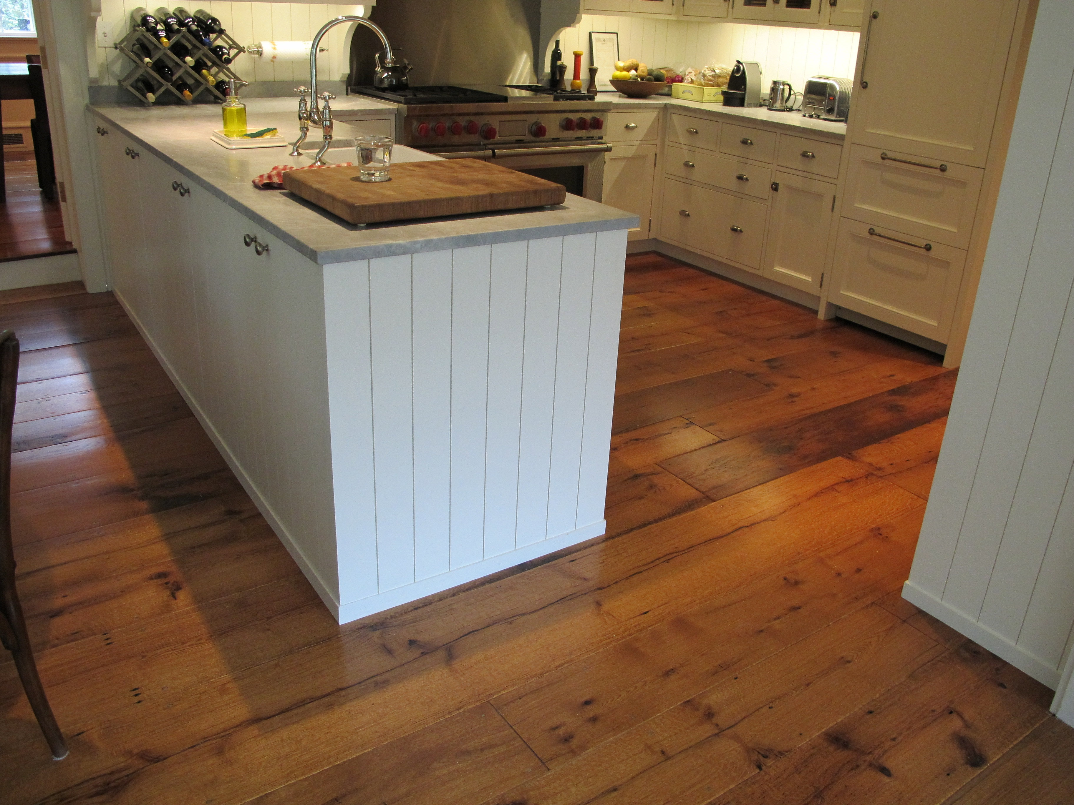 Chestnut Wood Working And Antique Flooring Kitchen Pic