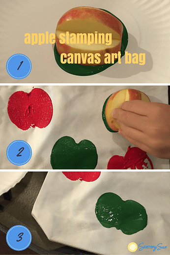 process of making the bag