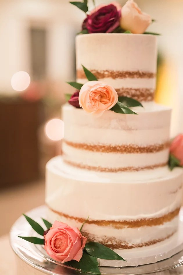 Crisp Bakeshop  Choosing the Perfect Cake Design   Farm To Table     We love this style because it adds an element of rustic style to your  dessert table  With the addition of fresh floral  it makes for a lovely cake  design