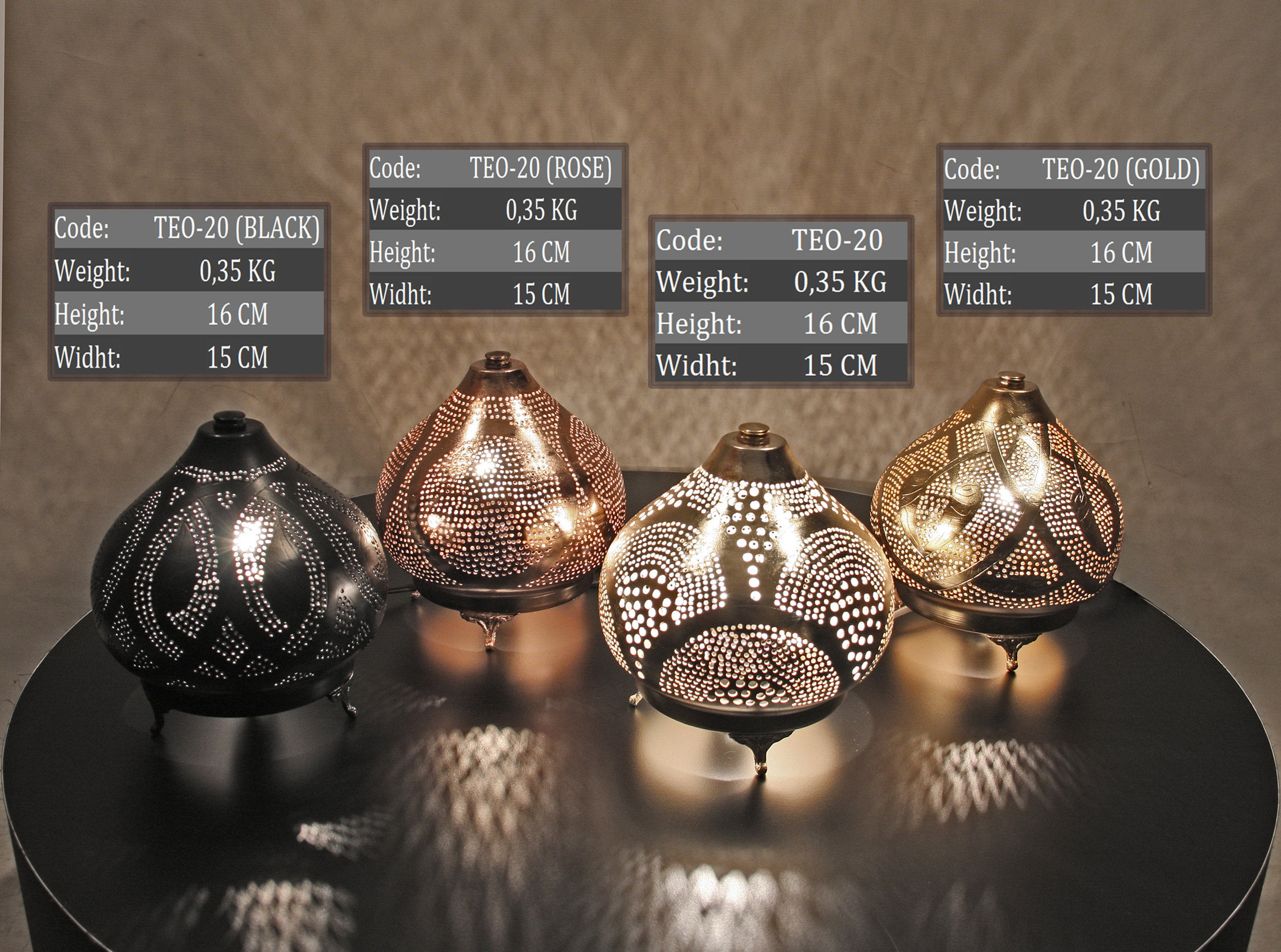 Small Moroccan Table Lamp Grandbazaarshopping Com