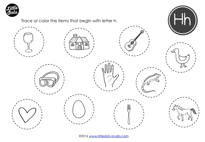 Preschool Letter H Activities And Worksheets