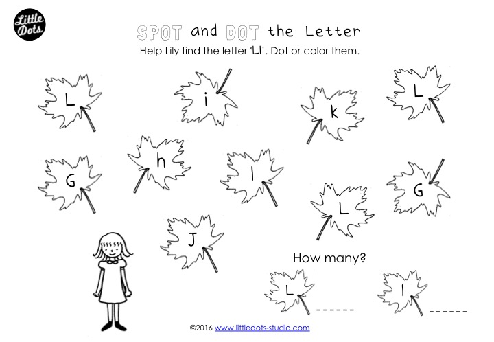 Preschool Letter L Activities And Worksheets