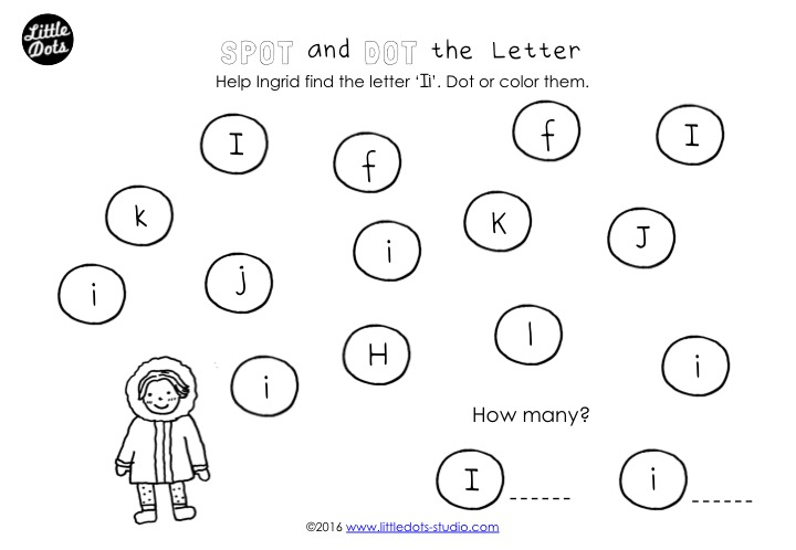 Preschool Letter I Activities And Worksheets