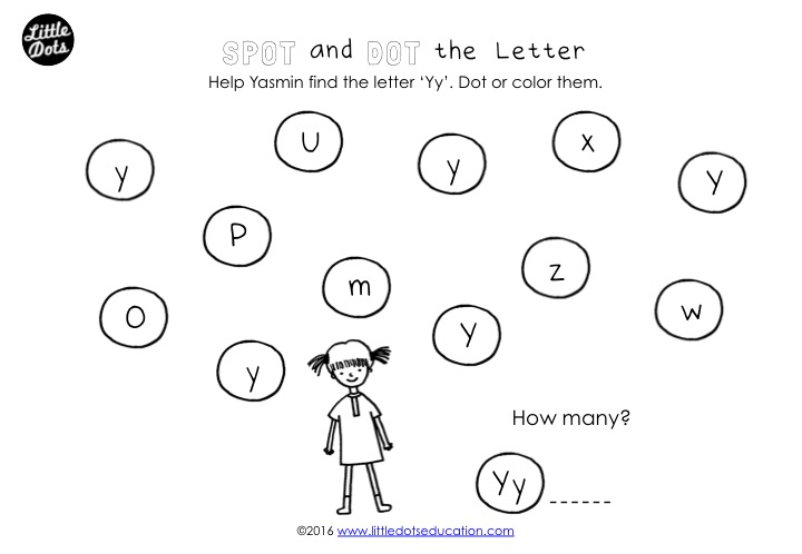 Preschool Letter Y Activities And Worksheets