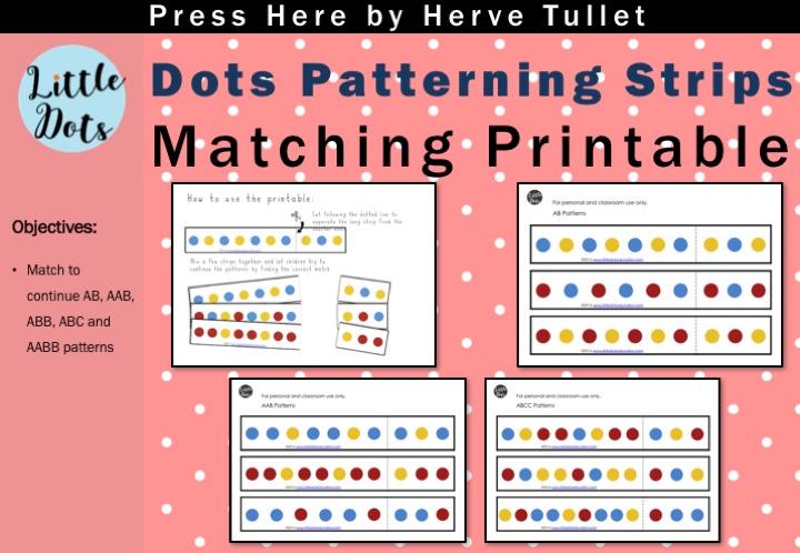Free Patterns Strips Matching Printable Based On Press