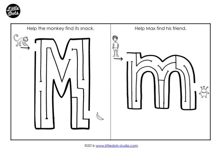 Preschool Letter M Activities And Worksheets