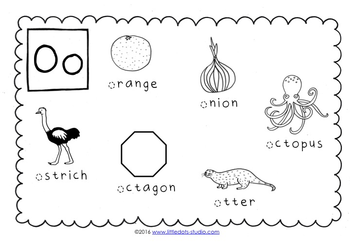 Preschool Letter O Activities And Worksheets