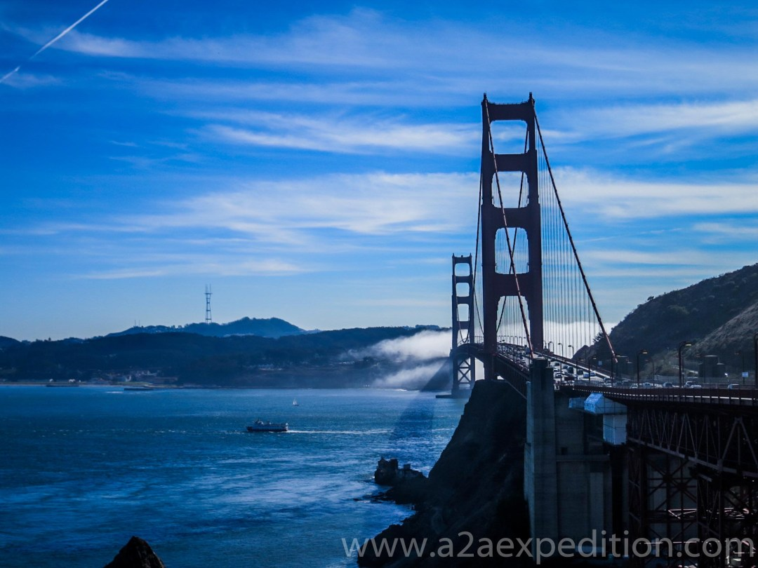 A day in the city of San Francisco
