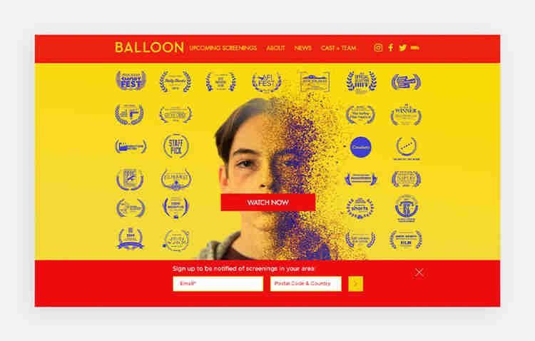 Ballon's website