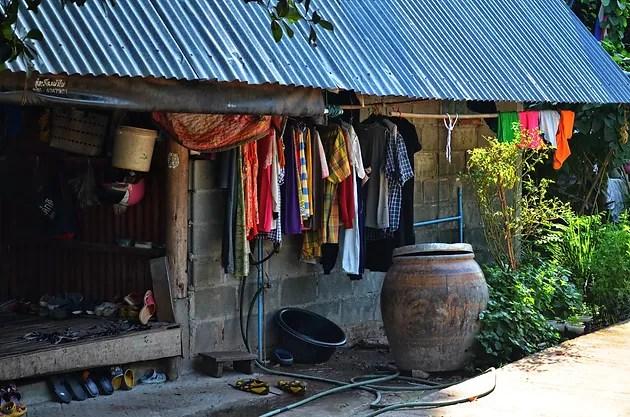 Village Life in Thailand