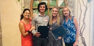 Rossmoor Women honor Julia Carpenter and Noah Shafton as Seniors of the Month