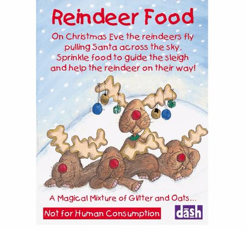 Reindeer Food Charity Christmas Cards