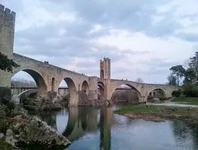 The 12th – century Romanesque bridge