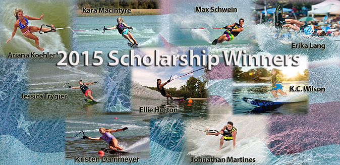 USA Water Ski Foundation Announces 2015 Scholarship Winners