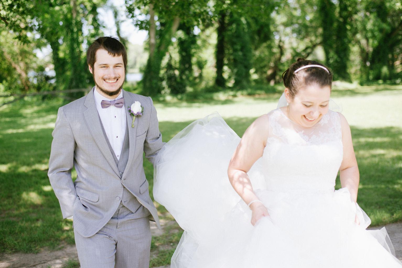 Hampton Roads Virginia Beach Spring Wedding Photographers