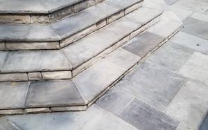 allside masonry flagstone steps