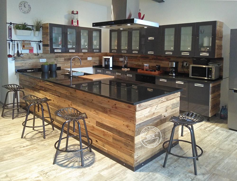 meubles sur mesure en bois de palette