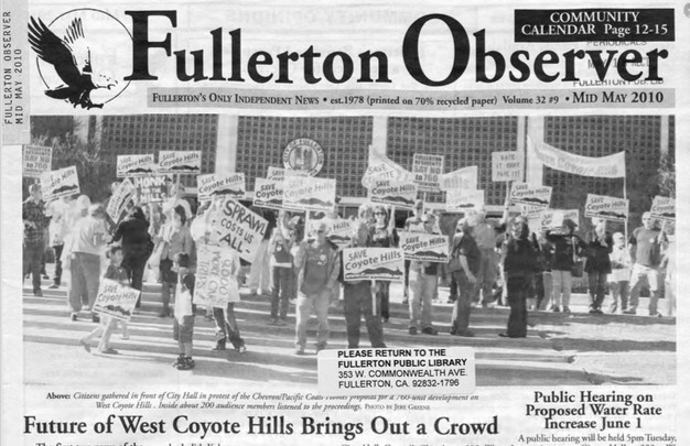 A Brief History of the Fullerton Observer - Fullerton Observer