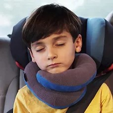 the chin supporting travel pillow